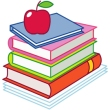 IEP apple and books image